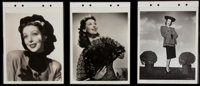 """Loretta Young in """"China"""" (Paramount, 1943). Keybook Photos (3) (8"""" X 11""""). Miscellaneous. ... (Total..."""