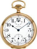 Timepieces:Pocket (post 1900), Waltham 23 Jewel 16 Size Vanguard Up/Down Indicator, circa 1915....