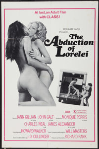 "The Abduction of Lorelei Lot (Unknown, 1977). One Sheets (2) (25"" X 37.5"" and 27"" X 41""). Adult..."