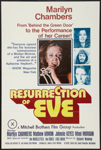 """Resurrection of Eve (Mitchell Brothers Film Group, 1973). One Sheet (24"""" X 36""""). Adult"""