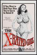 "Movie Posters:Sexploitation, The X-Rated Girl (Film Ventures International, 1979). One Sheet(27"" X 41""). Sexploitation.. ..."