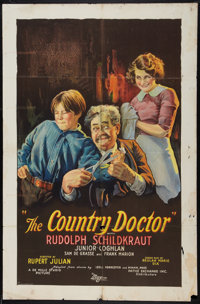 "The Country Doctor (Pathé, 1927). One Sheet (27"" X 41""). Drama"