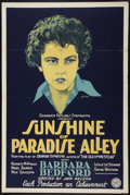 "Movie Posters:Romance, Sunshine of Paradise Alley (Chadwick Pictures, 1926). One Sheet (27"" X 41"") Style A. Romance.. ..."