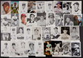 Baseball Collectibles:Photos, Circa 1970's and 1980's Baseball Stars Signed and Unsigned Photographs and Postcards Lot of 200+....