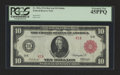 Large Size:Federal Reserve Notes, Fr. 902a $10 1914 Red Seal Federal Reserve Note PCGS Extremely Fine 45PPQ.. ...