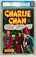 Golden Age (1938-1955):Crime, Charlie Chan #2 Vancouver pedigree (Crestwood/Headline, 1948) CGC NM+ 9.6 White pages....
