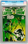 Bronze Age (1970-1979):Superhero, Green Lantern #76 (DC, 1970) CGC NM+ 9.6 Off-white to white pages....