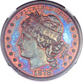 Patterns, 1878 $1 Goloid Dollar, Judd-1562, Pollock-1753, R.6-7, PR67 Red andBrown NGC....