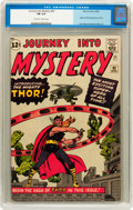 Silver Age (1956-1969):Superhero, Journey Into Mystery #83 (Marvel, 1962) CGC FN 6.0 Off-white towhite pages....