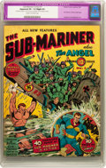 Golden Age (1938-1955):Superhero, Sub-Mariner Comics #1 (Timely, 1941) CGC Apparent VF- 7.5 Slight (P) Cream to off-white pages....