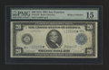 Large Size:Federal Reserve Note, Fr. 1010* $20 1914 Federal Reserve Note PMG Choice Fine 15.. ...