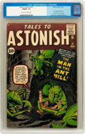 Silver Age (1956-1969):Superhero, Tales to Astonish #27 (Marvel, 1962) CGC FN/VF 7.0 Cream tooff-white pages....