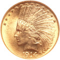 Indian Eagles, 1914 $10 MS63 NGC. CAC....