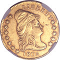 Early Quarter Eagles, 1802/1 $2 1/2 -- Mount Removed -- NGC Details. AU. Breen-6118,BD-1, R.4....