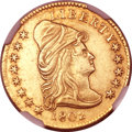 Early Quarter Eagles, 1802 $2 1/2 -- Improperly Cleaned -- NGC Details. AU. Breen-6118,BD-1, R.4....