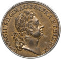 Colonials, 1723 2PENCE Rosa Americana Twopence MS62 Brown PCGS. CAC. M. 3-D, W-1334, R.2....