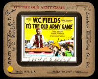 "It's the Old Army Game (Paramount, 1926). Glass Slide (3.25"" x 4""). Comedy"