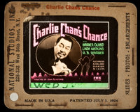 "Charlie Chan's Chance (Fox, 1932). Glass Slide (3.25"" x 4""). Mystery"
