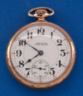 Timepieces:Pocket (post 1900), Hamilton 992 With Rare Time-Prince Dial Pocket Watch. ...