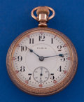 Timepieces:Pocket (post 1900), Elgin 18 Size 21 Jewel Grade 349 Pocket Watch . ...