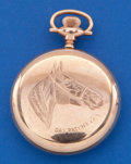 Timepieces:Pocket (post 1900), Dan Patch 16 Size Sharp Chronograph Pocket Watch. ...