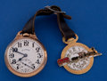 Timepieces:Pocket (post 1900), Illinois 21 Jewel 60 Hour Bunn Special Pocket Watch With Fob. ...
