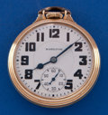 Timepieces:Pocket (post 1900), Hamilton 21 Jewel 992 Elinvar Pocket Watch. ...