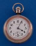 Timepieces:Pocket (post 1900), Illinois 18 Size 21 Jewel Bunn Special 4 Oz. Coin Silver CasePocket Watch. ...