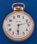 Timepieces:Pocket (post 1900), Hamilton 23 Jewel, Grade 950 23 Salesman Sample Pocket Watch. ...