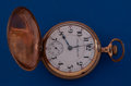 Timepieces:Pocket (post 1900), Hamilton Grade 936 In an 18 Size Hunter's Case Pocket Watch. ...