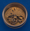 Timepieces:Pocket (pre 1900) , Swiss Unusual Lever Fusee With Eagle Form Main Plate Movement Only....