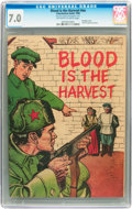 Golden Age (1938-1955):War, Blood Is the Harvest #nn (Catechetical Guild, 1950) CGC FN/VF 7.0 Off-white to white pages....