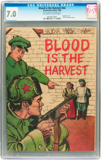Blood Is the Harvest #nn (Catechetical Guild, 1950) CGC FN/VF 7.0 Off-white to white pages