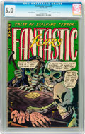 Golden Age (1938-1955):Horror, Fantastic Fears #5 (Farrell, 1954) CGC VG/FN 5.0 Off-white to whitepages....