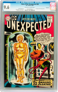 Tales of the Unexpected #66 Savannah pedigree (DC, 1961) CGC NM+ 9.6 Off-white to white pages