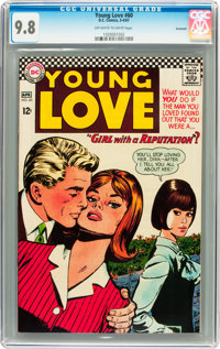 Young Love #60 Savannah pedigree (DC, 1967) CGC NM/MT 9.8 Off-white to white pages