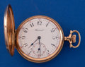 Timepieces:Pocket (post 1900), Howard 14k Gold 16 Size Hunters Case. ...