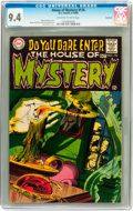 Silver Age (1956-1969):Horror, House of Mystery #176 Savannah pedigree (DC, 1968) CGC NM 9.4Off-white to white pages....