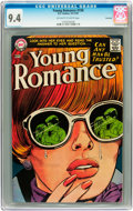 Silver Age (1956-1969):Romance, Young Romance #150 Savannah pedigree (DC, 1967) CGC NM 9.4 Off-white to white pages....