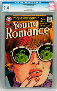 Young Romance #150 Savannah pedigree (DC, 1967) CGC NM 9.4 Off-white to white pages