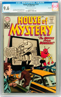 Silver Age (1956-1969):Horror, House of Mystery #114 Savannah pedigree (DC, 1961) CGC NM+ 9.6Cream to off-white pages....