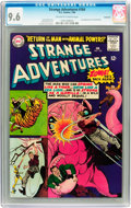 Silver Age (1956-1969):Science Fiction, Strange Adventures #184 Savannah pedigree (DC, 1966) CGC NM+ 9.6 Off-white to white pages....