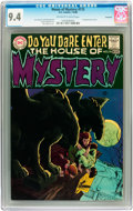 Bronze Age (1970-1979):Horror, House of Mystery #175 Savannah pedigree (DC, 1968) CGC NM 9.4Off-white to white pages....