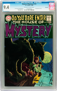 House of Mystery #175 Savannah pedigree (DC, 1968) CGC NM 9.4 Off-white to white pages