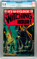 Silver Age (1956-1969):Horror, The Witching Hour #4 Savannah pedigree (DC, 1969) CGC NM/MT 9.8White pages....