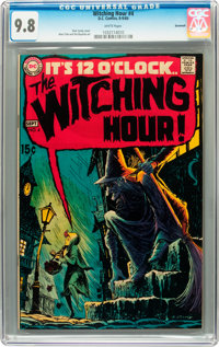 The Witching Hour #4 Savannah pedigree (DC, 1969) CGC NM/MT 9.8 White pages