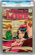 Silver Age (1956-1969):Romance, Falling in Love #74 Savannah pedigree (DC, 1965) CGC NM+ 9.6Off-white pages....