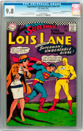 Silver Age (1956-1969):Superhero, Superman's Girlfriend Lois Lane #74 Double Cover - Savannahpedigree (DC, 1967) CGC NM/MT 9.8 Off-white to white pages....