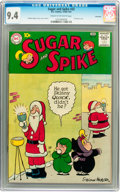Silver Age (1956-1969):Humor, Sugar and Spike #32 Savannah pedigree (DC, 1960) CGC NM 9.4 Cream to off-white pages....