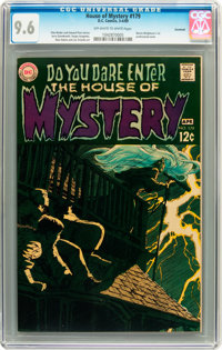 House of Mystery #179 Savannah pedigree (DC, 1969) CGC NM+ 9.6 Off-white to white pages